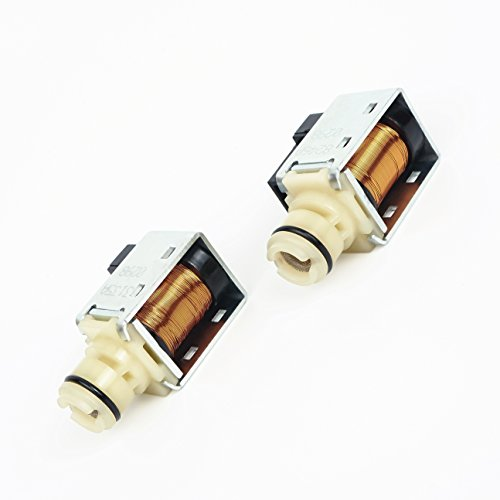 Transmission 1-2 2-3 A & B Shift Solenoid Valve 24230298 4L60E 4L65E 1993-2015 Set of 2 fits GM