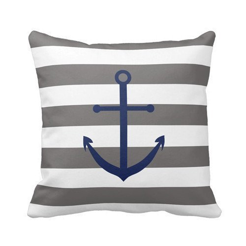 decorlution-dark-grey-and-navy-blue-anchor-pillow-personalized-18x18-inch-square-cotton-throw-pillow