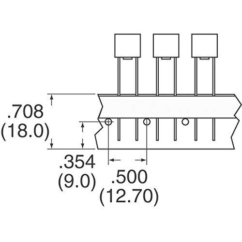 250V 1 piece TIME DELAY 2A PCB BUSSMANN BY EATON SR-5-2A-BK FUSE