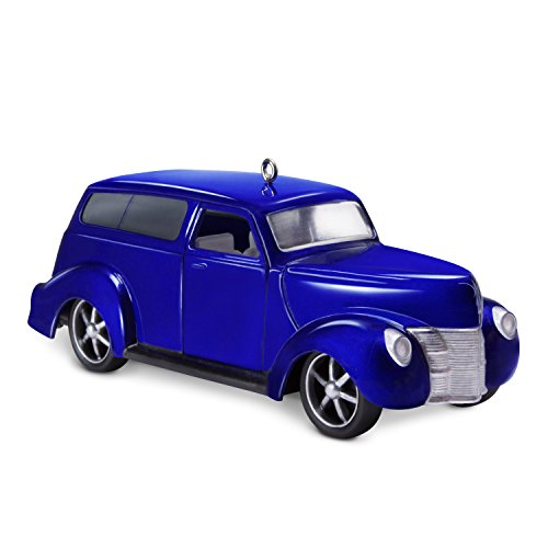 Hallmark Keepsake Christmas Ornament 2018 Year Dated, Car Keepsake Kustoms 1940 Ford, Metal