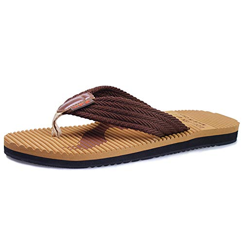 55cc49c00789b4 CIOR Men s Classical Flip-Flop Beach Slipper Thong Sandals Comfortable  Handmade Fashion Indoor and Outdoor