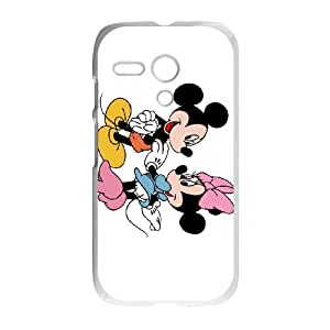 Disney Mickey Mouse Minnie Mouse Motorola G Cell Phone Case White present pp001_9778783