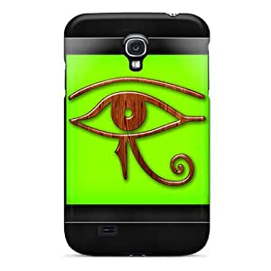 ButterflyValley KcDbX53682YyJwh Case Cover Galaxy S4 Protective Case Eye Of Ra