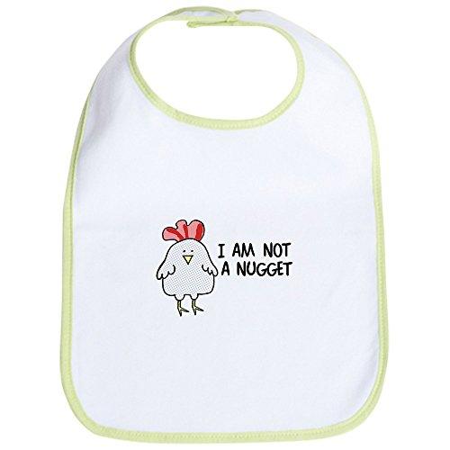 (CafePress - I Am Not A Nugget Bib - Cute Cloth Baby Bib, Toddler Bib)