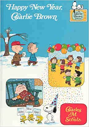happy new year charlie brown charlie brown tv special books charles m schulz 9780394884677 amazoncom books
