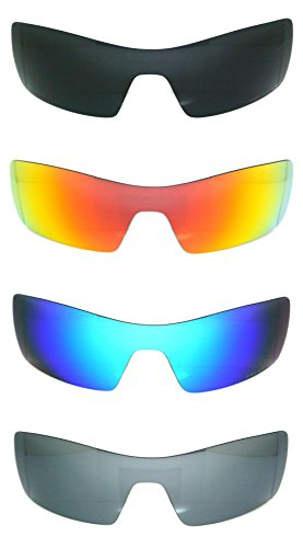 Set of 4 Polarized Replacement Lenses for Oakley Oil Rig Sunglasses - Rig Oil Lens