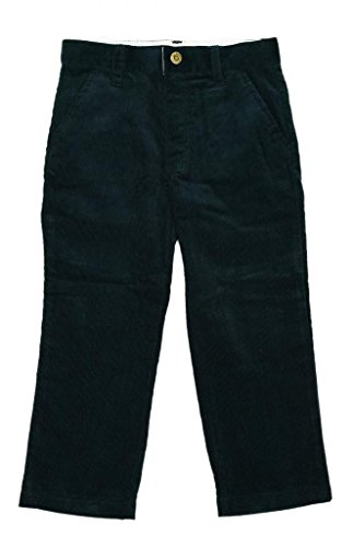 All Navy Boys Slim Fit Corduroy Pants Available in 6 Stylish Colors - Navy - 10Y