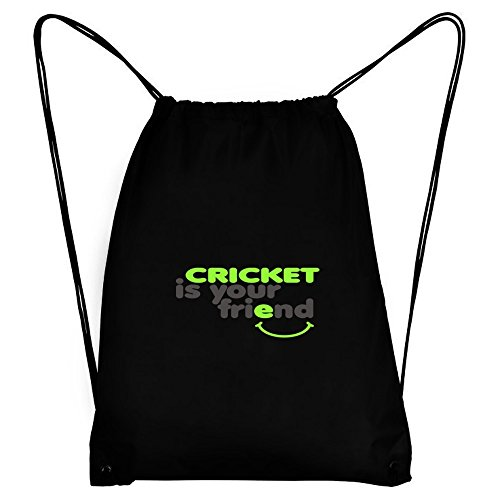 Teeburon Cricket IS YOU FRIEND Sport Bag by Teeburon
