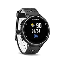 Garmin Forerunner 230 GPS Running Watch, Black/White