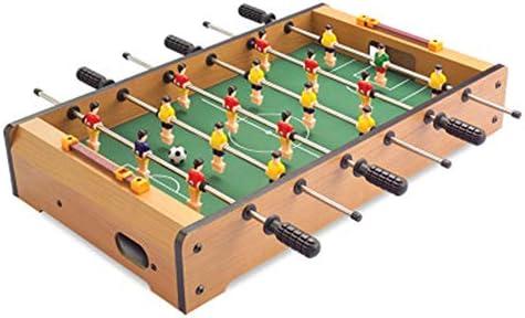 Mini juego de mesa Mini mesa de madera portátil de fútbol ...