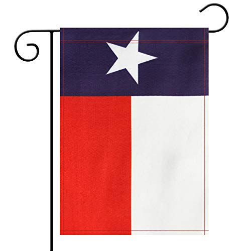 - Garden Flag Texas State TX Flag Garden Flag,Garden Decoration Flag,Indoor and Outdoor Flags,Celebration Parade Flags,TX State Party Event Decorations,Double-Sided.