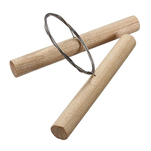 Cutting Wire (COMIART Wooden Cutting Wire for Clay Pottery Sculpture Modeling Making Toot Set)