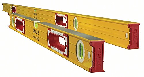 Stabila 37532 Jamber 78-Inch and 32-Inch Aluminum Box Beam Level Set by Stabila