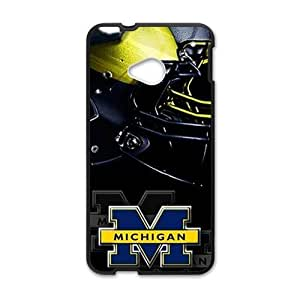 Happy Michigan special pattern Cell Phone Case for HTC One M7
