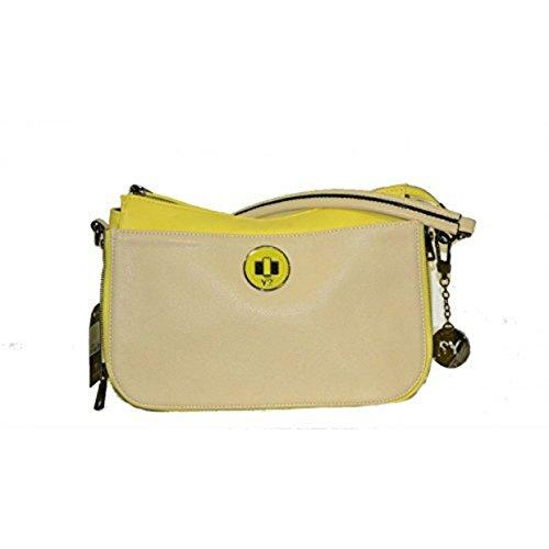 Tracolla Y Not con pattine reversibili yellow R 001