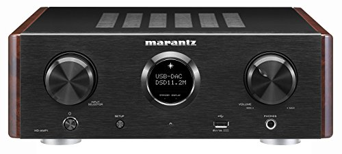 Marantz HD-AMP1 – Stereo Integrated Amplifier with Built-in DAC | Premium Sound Quality | Dual Analog Input | Dedicated Headphone Amplifier | MusicLink Space Saver Design