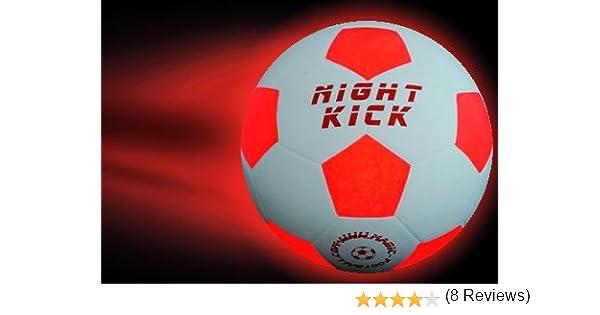 Pelota de futbol con luz NIGHT KICK JUNIOR - el fútbol infantil ...