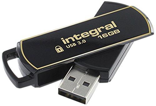 Integral 16GB Secure 360 Encrypted USB3.0 Flash Drive (256-bit AES Encryption)