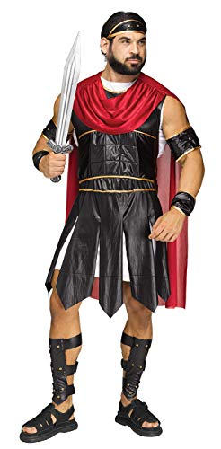 Fun World Men's Roman Soldier Costumes, Multi, Standard -