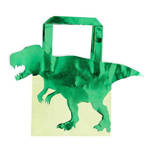 Dinosaur Party Supplies Goodie Bag Candy Bags Party Favors for Kids Dinosaur Birthday Decorations Kids Birthday Party 8.5