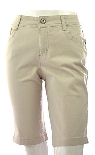 (Nine West Bermuda Shorts (14, Cream) )