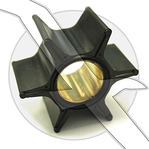 Mercury Outboard & Mercruiser Alpha One Replacement Water Pump Impeller R/MR Alpha 1 47-89984T4 - Mercury Outboard Impeller Replacement