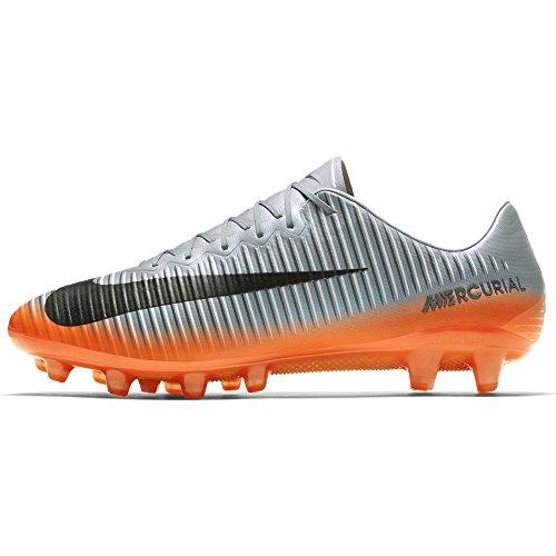 Nike Mens Mercurial Vapori Xi Cr7 Ag-pro - (grigio Freddo / Argento Metallizzato)