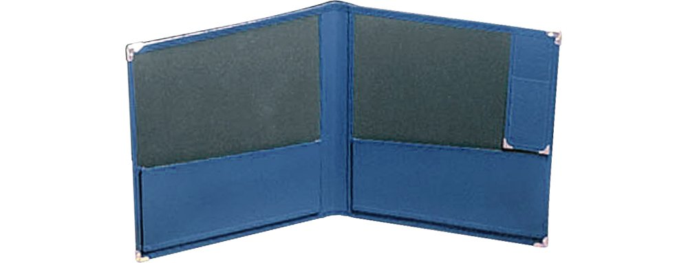 Deer River Deluxe Grand Concert Band Folio With Pencil Holder Blue