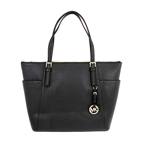 - Michael Kors Jet Set Ladies Large Leather Tote Handbag 35H7GTTT9L001