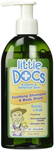 Circle Of Friends Body Wash - Little Docs Children's Shampoo & Body Wash Eczema and Sensitive Skin Formula, 8 oz.