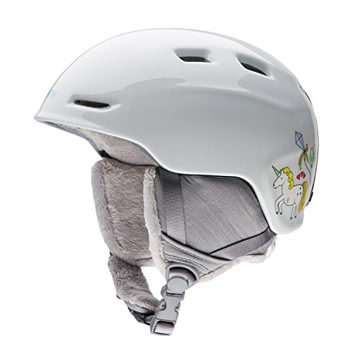 Smith Optics Zoom Youth Junior Ski Snowmobile Helmet - White (Ski And Snowboard Outlet)