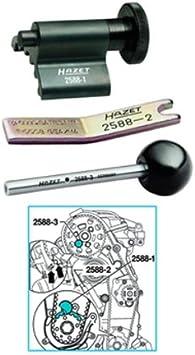 Hazet 2588 - Kit de calado de distribución (3 piezas): Amazon.es: Bricolaje y herramientas