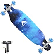 APOLLO Longboard Skateboards - Premium Long Boards for Adults, Teens and Kids. Cruiser Long Board Skateboard.