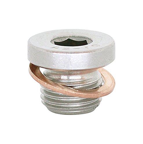(3pcs) M10X1 Stainless Steel A2 Metric Allen Head Threaded Screw Plugs DIN 908, BelMetric (Pipe Flange Bolts)
