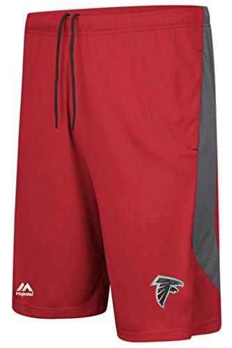 (Atlanta Falcons NFL Majestic Mens Last Rally Shorts Red Big & Tall Sizes (3XL))