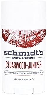 product image for Schmidt's DeodorantTM - Cedarwood + Juniper Stick (3.25 oz.; Odor Protection & Wetness Relief; Aluminum-Free) by Schmidt's DeodorantTM