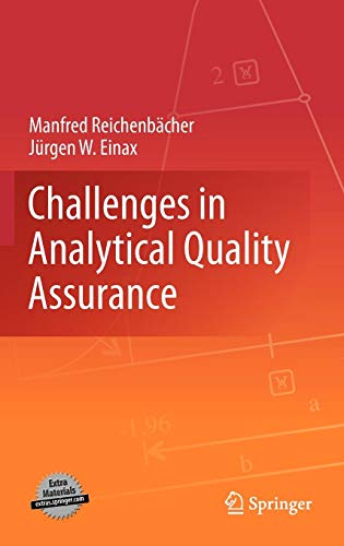 Challenges in Analytical Quality Assurance (Validation Of Analytical Methods For Pharmaceutical Analysis)