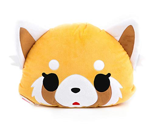 Aggretsuko Double Sided Face Cushion