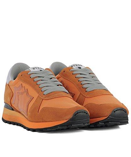 Atlantic Stars Herren ARGOAANYNAAN Orange Wildleder Sneakers