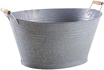 bassine en zinc
