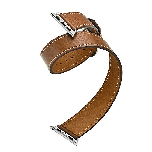 Elobeth iWatch Genuine Leather Replacement