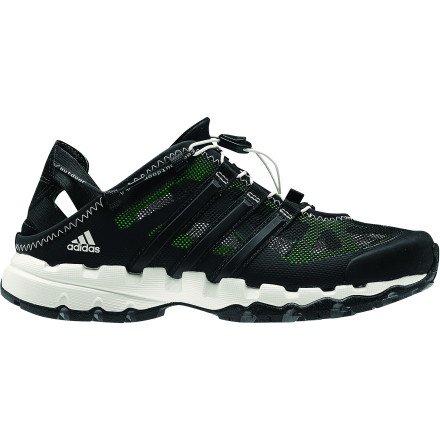 adidas Outdoor Hydroterra Shandal Watersport Shoe – Women's Black/Green Zest/Chalk 8 Review