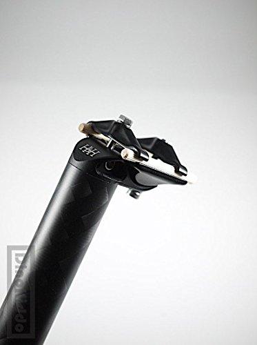 割引価格 H&H pattern Ver2.0 DC for 12K pattern carbon seatpost 31.8mm Brompton x 600mm for Brompton folding bike B07FZP6MDK, 株式会社澤野商店-:3d6d22ef --- 4x4.lt