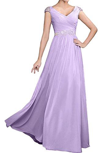 para Lilac mujer Topkleider trapecio Vestido YxnqwHtEBw