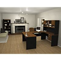 92851-63 Innova Entire Collection Kit with Scratch and Stain Resistant Surface in Tuscany Brown and Black