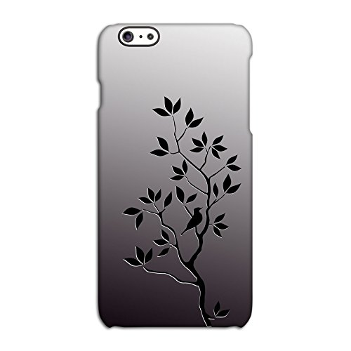 Bird In Tree (Black) Deflector Back Case for Apple iPhone 6 6S Plus