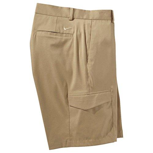 NIKE Mens Cargo Golf Shorts - Khaki, 36