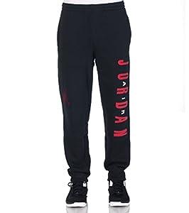 Jordan by Nike Boys Youth Jumpman Graphic Sweatpants Fleece Pants Black  Size XL