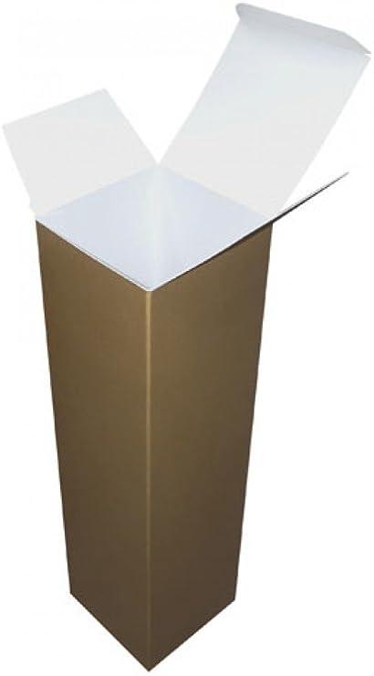 Cajas de cartón para botella de vino de Navidad cajas de regalo, 10 unidades): Amazon.es: Oficina y papelería
