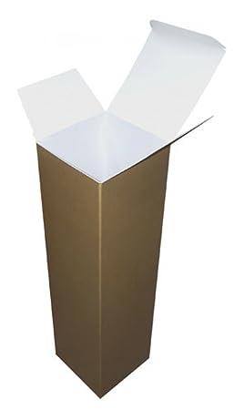 Cajas de cartón para botella de vino de Navidad cajas de regalo, 10 unidades)